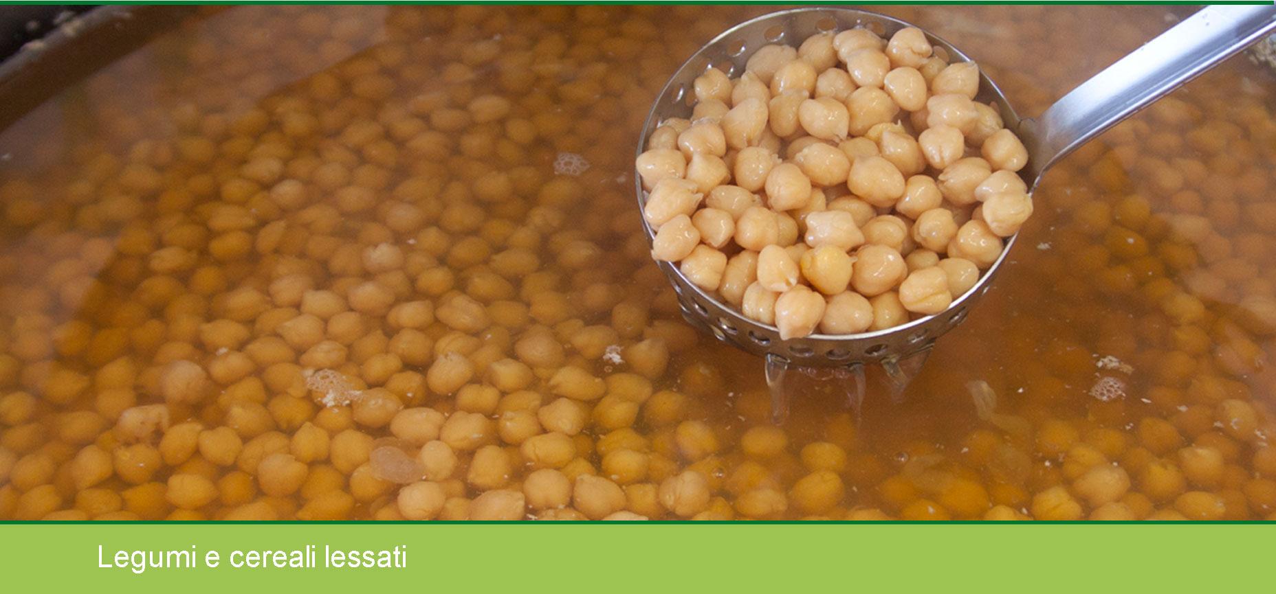 Legumi e cereali sulle tavole italiane